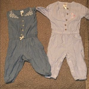 Set of  Two  carter's